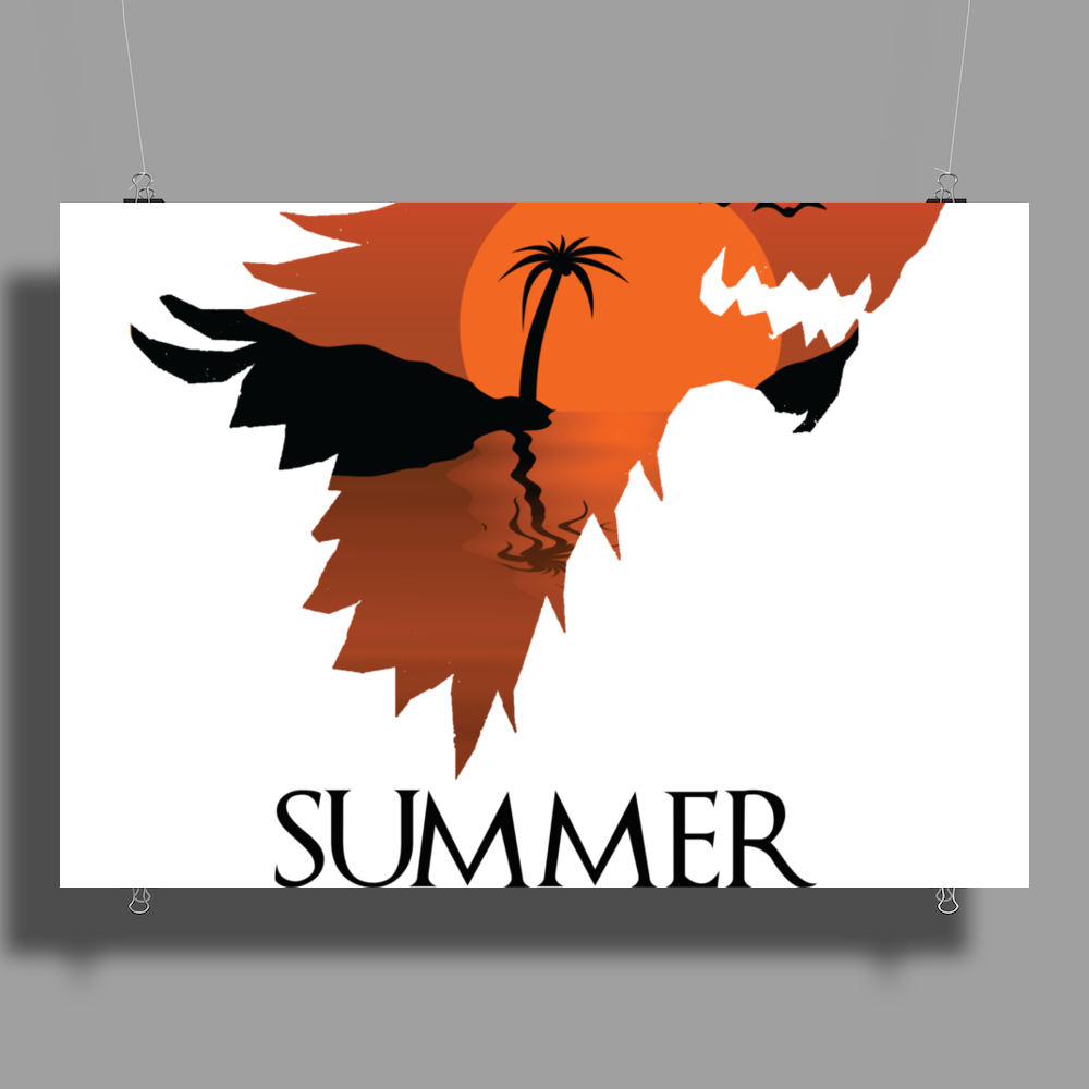 Summer is Coming Poster Print (Landscape)