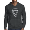 Summer Men Casual Triangle Printed Short Sleeve Tee Mens Hoodie