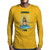 Summer Time Girl Mens Long Sleeve T-Shirt