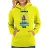 Summer Time Girl Womens Hoodie