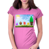 Summer Treats Womens Fitted T-Shirt