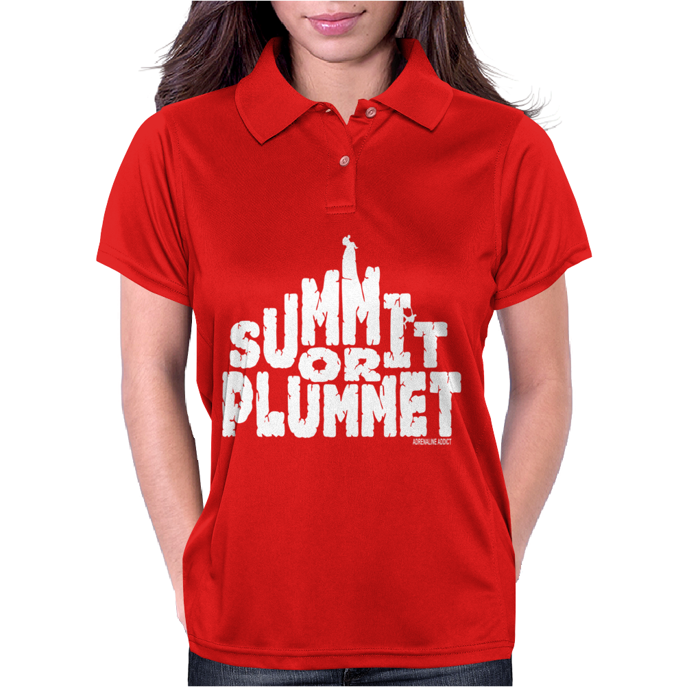 Summit Or Plummet Womens Polo