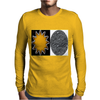 Sun and Moon Mens Long Sleeve T-Shirt