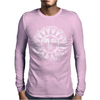 Sun White Mens Long Sleeve T-Shirt