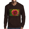 Sunburst Flower Close up Mens Hoodie