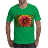 Sunburst Flower Close up Mens T-Shirt