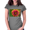 Sunburst Flower Close up Womens Fitted T-Shirt