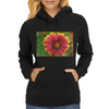 Sunburst Flower Close up Womens Hoodie