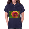 Sunburst Flower Close up Womens Polo