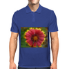 Sunburst Gaillardia Close Up Mens Polo