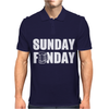 Sunday Funday Mens Polo