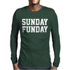 Sunday Funday party funny tee Mens Long Sleeve T-Shirt