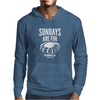Sundays Are For Football Foot Ball Mens Hoodie
