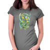 Sunny Dandelions Womens Fitted T-Shirt