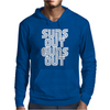 Suns Out Guns Out LOL Funny Mens Hoodie
