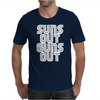 Suns Out Guns Out LOL Funny Mens T-Shirt