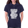 Suns Out Guns Out LOL Funny Womens Polo