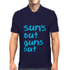 Suns Out Guns Out Mens Polo