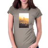 Sunset surf Pipeline, Oahu, Hawaii Womens Fitted T-Shirt