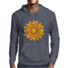 sunshine summertime fire hot flame Mens Hoodie