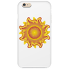 sunshine summertime fire hot flame Phone Case