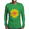 sunshine summertime springtime fire hot flame Mens Long Sleeve T-Shirt