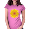 sunshine summertime springtime fire hot flame Womens Fitted T-Shirt