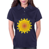 sunshine summertime springtime fire hot flame Womens Polo