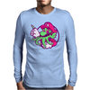 Super Cthulhio Mens Long Sleeve T-Shirt
