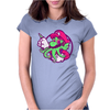 Super Cthulhio Womens Fitted T-Shirt
