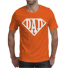 Super Dad Diamond Superhero Daddy Comic Cartoon Mens T-Shirt