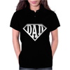 Super Dad Diamond Superhero Daddy Comic Cartoon Womens Polo
