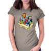super dog Womens Fitted T-Shirt