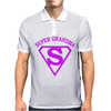 Super grandma Mens Polo