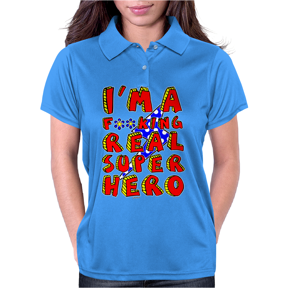 Super Hero Womens Polo