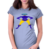 Super Hero Yaka Blitz Womens Fitted T-Shirt
