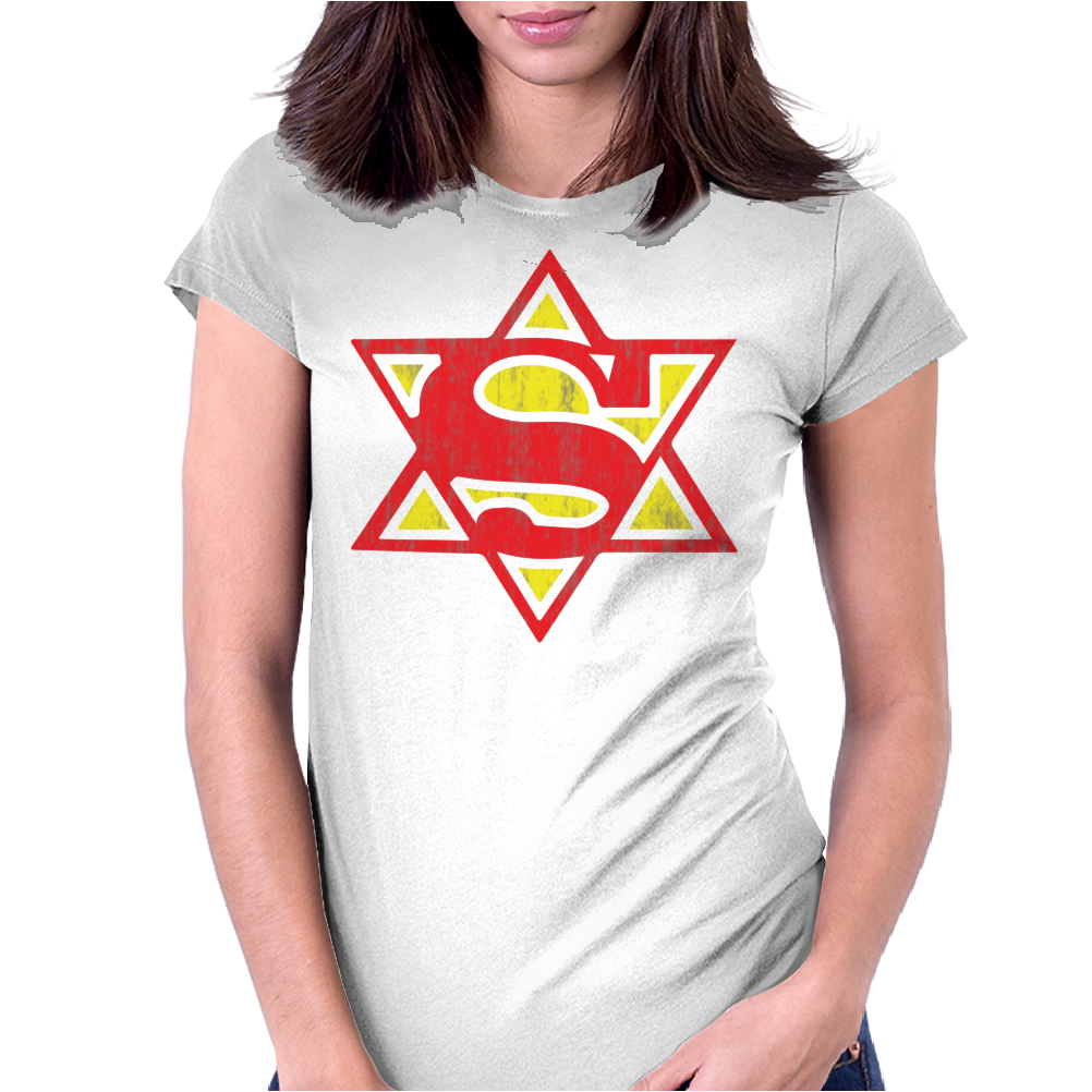 Super Jew Womens Fitted T-Shirt