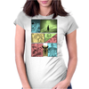 Super Ma..Ma..MarioMan Womens Fitted T-Shirt