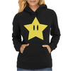 Super Mario Power Star Womens Hoodie
