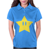 Super Mario Power Star Womens Polo