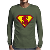 super Mens Long Sleeve T-Shirt