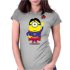 Super Minion Womens Fitted T-Shirt