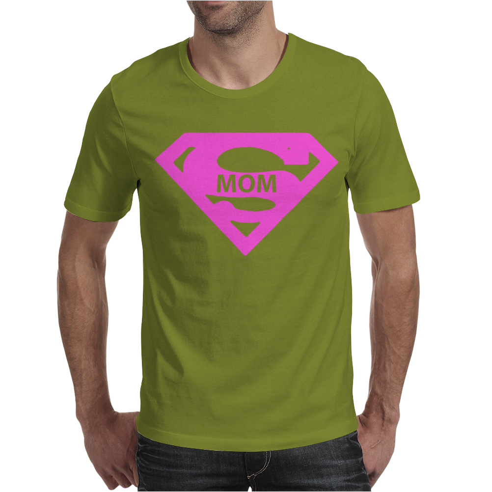 Super Mom Mens T-Shirt