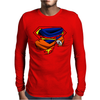 Super Who? Goku Mens Long Sleeve T-Shirt