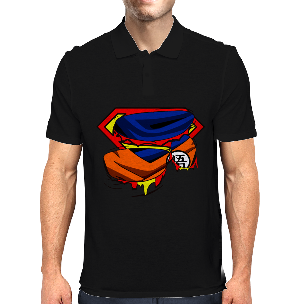 Super Who? Goku Mens Polo
