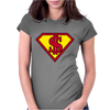 super Womens Fitted T-Shirt