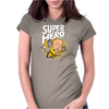 Superhero Bros. Womens Fitted T-Shirt