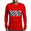 Superhero Tessellation Mens Long Sleeve T-Shirt