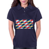 Superhero Tessellation Womens Polo