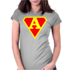 superhero Womens Fitted T-Shirt